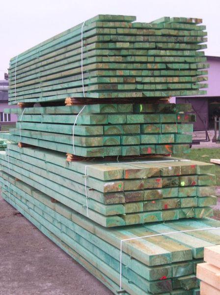 Tarcica budowlana, łaty dachowe, podbitki