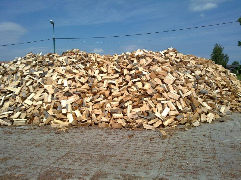 Drewno kominkowe - bukowe