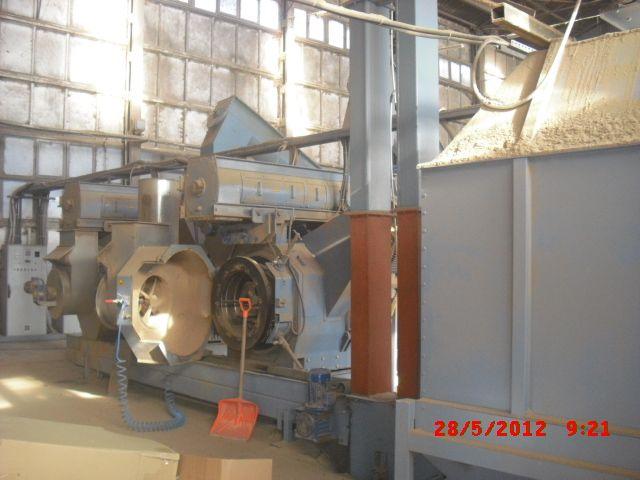 Linie do produkcji brykietu, pelletu oraz elektrownie wiatrowe