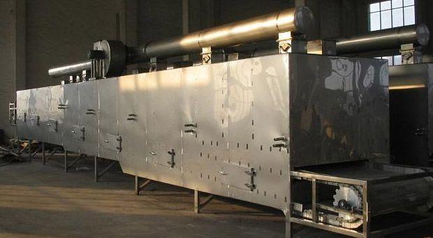 Suszarnia taśmowa do biomasy