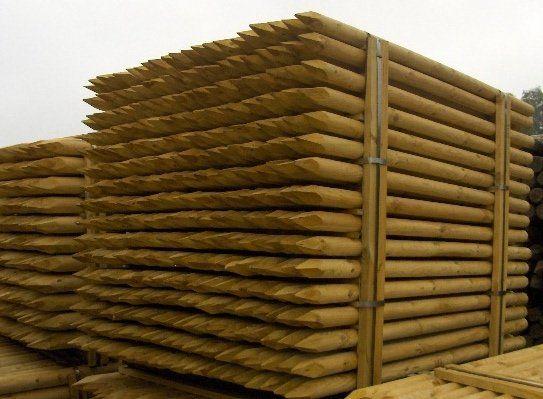 sprzedam paliki, palisady oraz wyroby ogrodowe