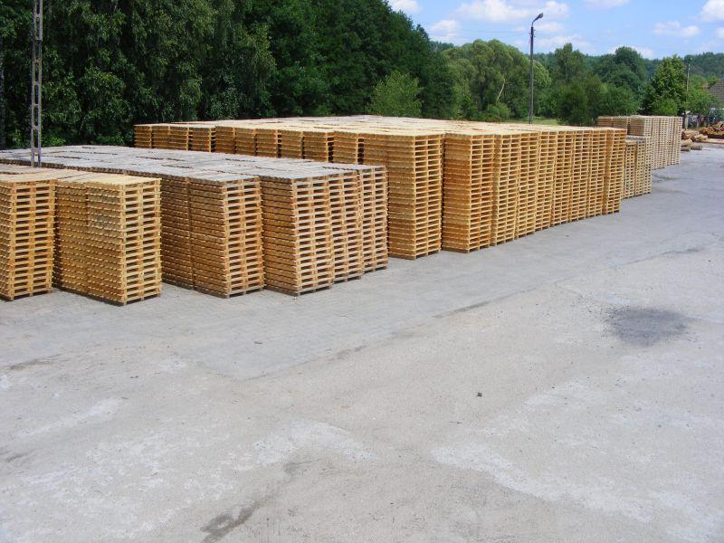 Paleta drewniana 980x980 pod cegłę 7000 sztuk