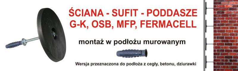MICHNOSYSTEM-Innowacyjny System Montażu Płyt Karton-Gips/OSB (Ściana-Sufit-Podłoga )Gliwice