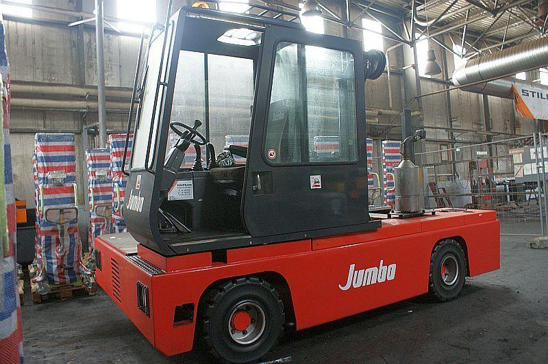Wózek widłowy 6 ton - boczny marka JUMBO J / SHP 60/16/45 /