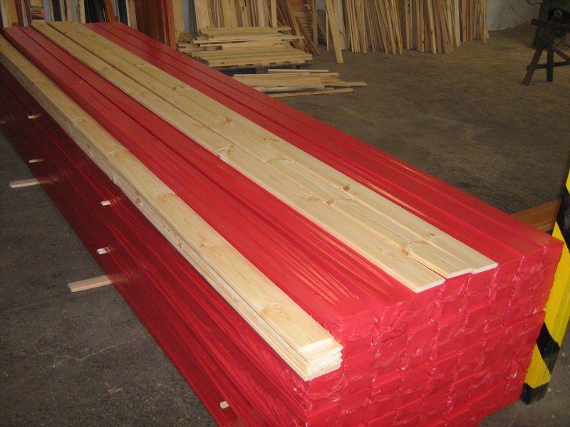Elementy drewniane. Współpraca