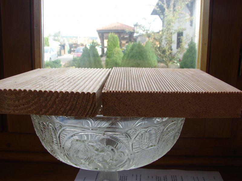 Deska tarasowa, podłogowa modrzewiowa