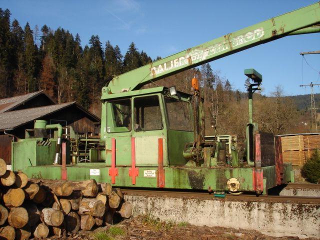Pojazd Baljer & Zembrod z żurawiem OBX I rok produkcji 1989