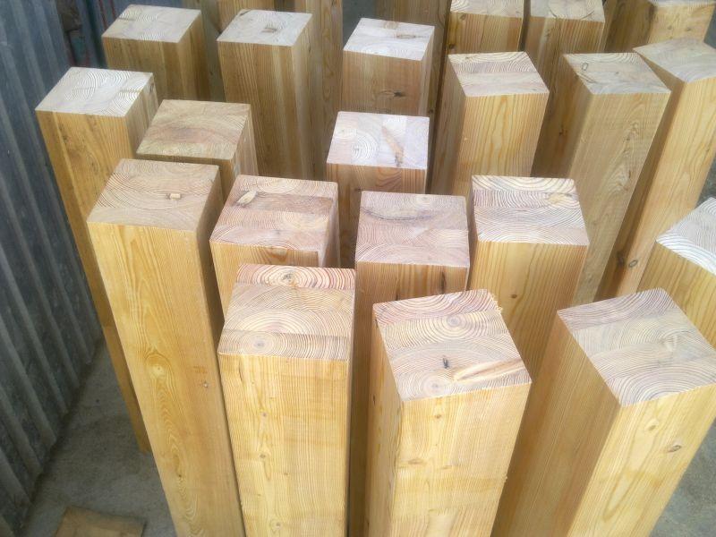 drewno konstrukcyjne, bale profilowane, drewno klejone
