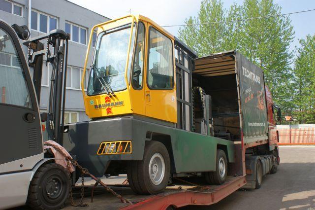 Wózek boczny Baumann 5 ton. 2009 r