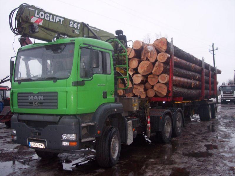 Sprzedaż i transport drewna!!!