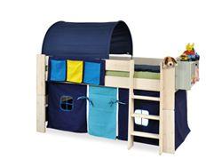 Łóżka dla dzieci z drewna i MDF