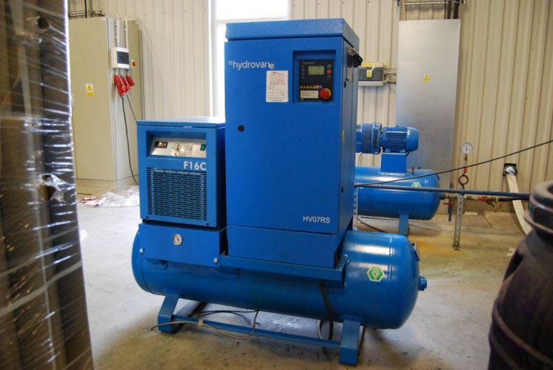 Kompresor CompAir HV07RS Hypac AERD (Osuszacz + Zbiornik)