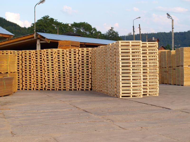 Drewno na palety, elementy