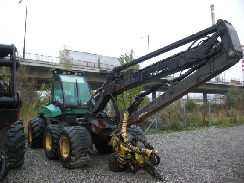 Maszyna leśna Harvester Timberjack 1270B 1999r.