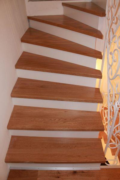 Klejonka dębowa 40mm na stopnie schodowe. Stopnice DĄB