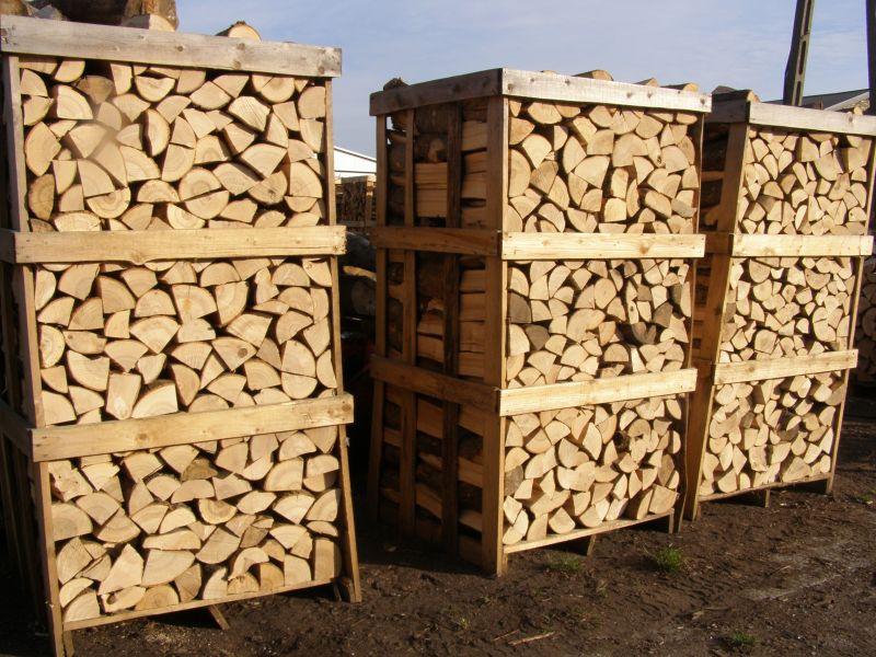 Drewno opałowe paletowane