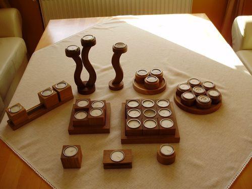 Producent świeczników drewnianych poszukuje odbiorców