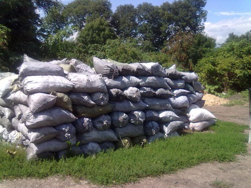 Węgiel drzewny z Ukrainy 280 EURO za tonę