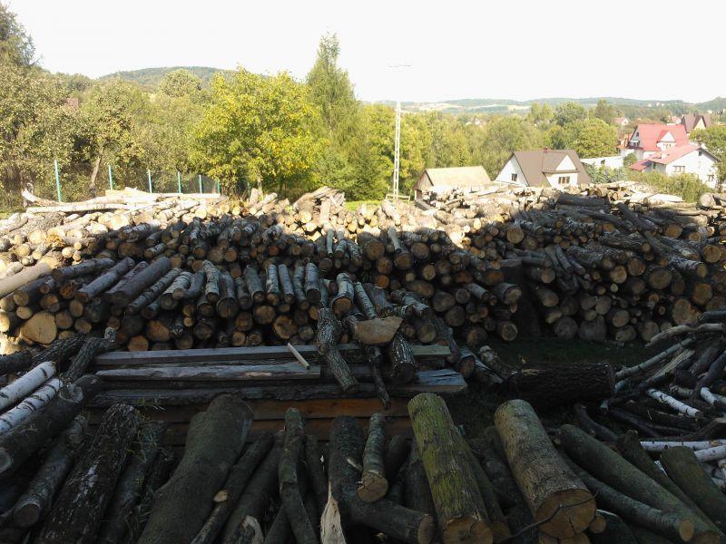 Sprzedam ponad 100m3 drewna