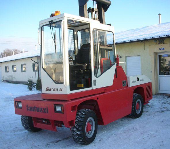 wózek widłowy bocznego załadunku FANTUZZI SF50U 2002 5 ton Cargolifts