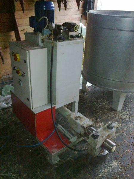 brykieciarka hydrauliczna 50kg/h