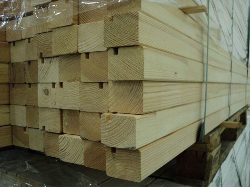 Elementy sosnowe, drewniane 1950 x 50 x 40 mm