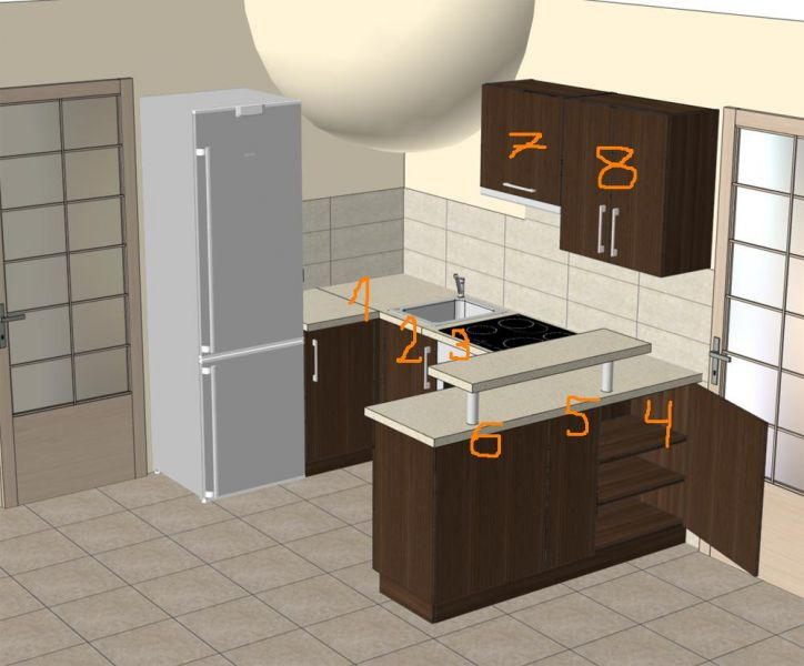 zlecę wykonanie mebli kuchennych z MDF