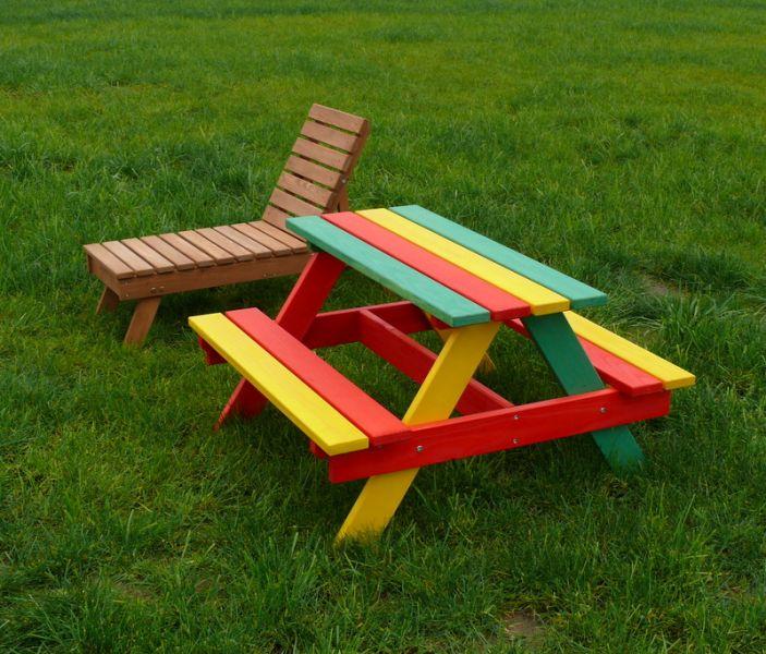 Meble ogrodowe dla dzieci Ogłoszenia branży drzewnej  Giełda