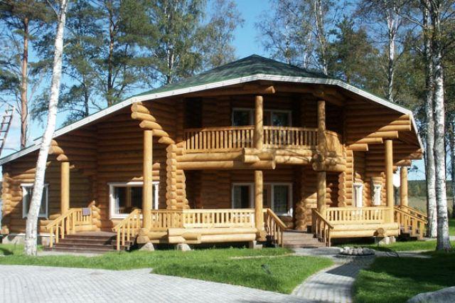Ukraina.Domy z bala,sarmacki drewniane okna,dachy trzcinowe od producenta