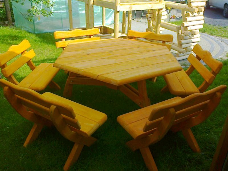 Meble Ogrodowe Z Drewna Sosnowego : Meble ogrodowe,barowe,drewniane, z drewnaTransport 100 zł cała