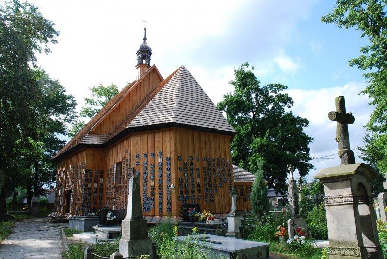 Rzymskokatolicki kościół p.w. św. Anny w Zaklikowie