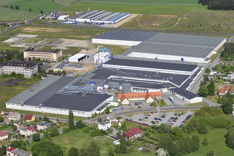 Widok obecny na zakład IKEA Industry w Babimoście