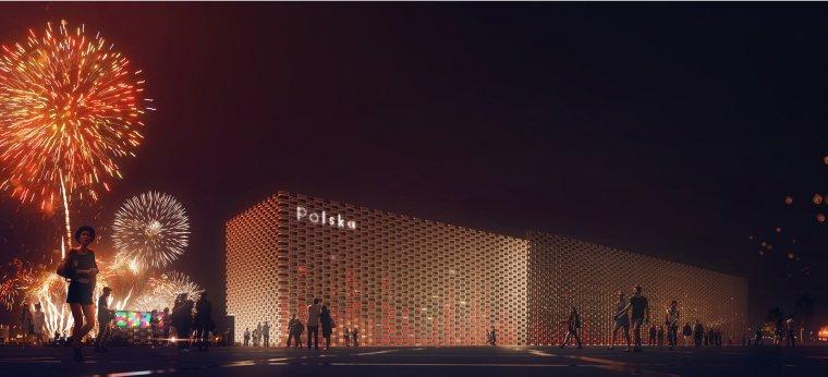 Pawilon Polski Expo 2015, wizualizacja