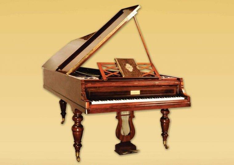 Fortepian Pleyel z 1862