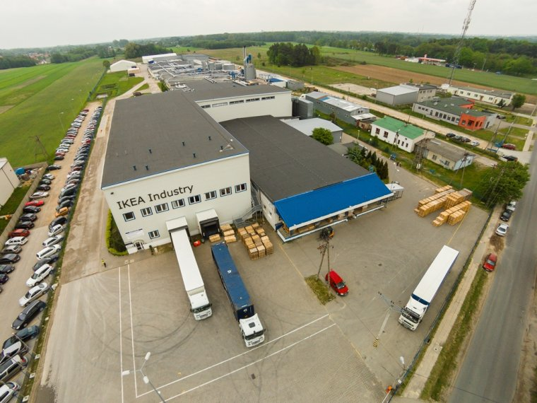 Fabryka mebli IKEA Industry w Konstantynowie Łódzkim