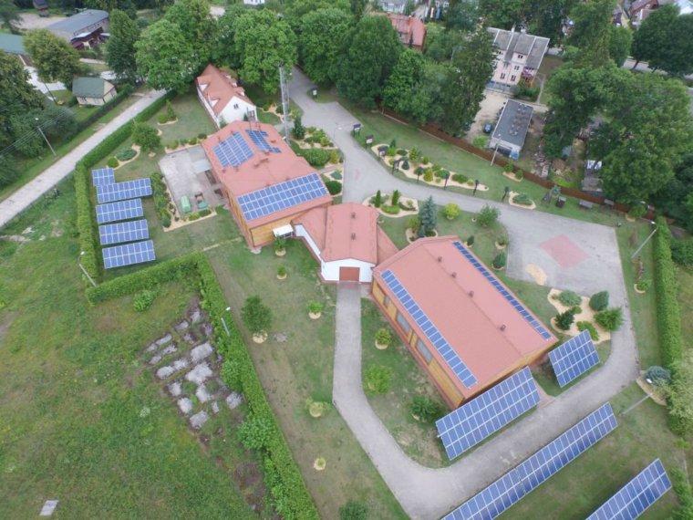 Nadleśnictwo Czarna Białostocka uruchomiło elektrownię fotowoltaniczną