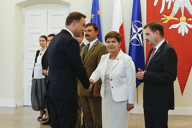 Spotkanie w pałacu prezydenckim