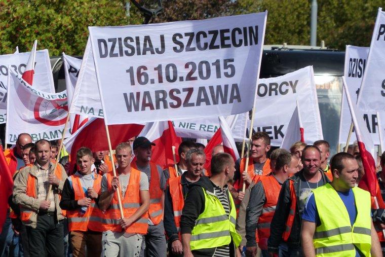 Na 16. października zaplanowano wielotysięczną manifestację przemysłu drzewnego i pracowników leśnych
