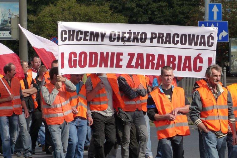 Na 2. października zaplanowano kolejny protest przedsiębiorców leśnych w Warszawie