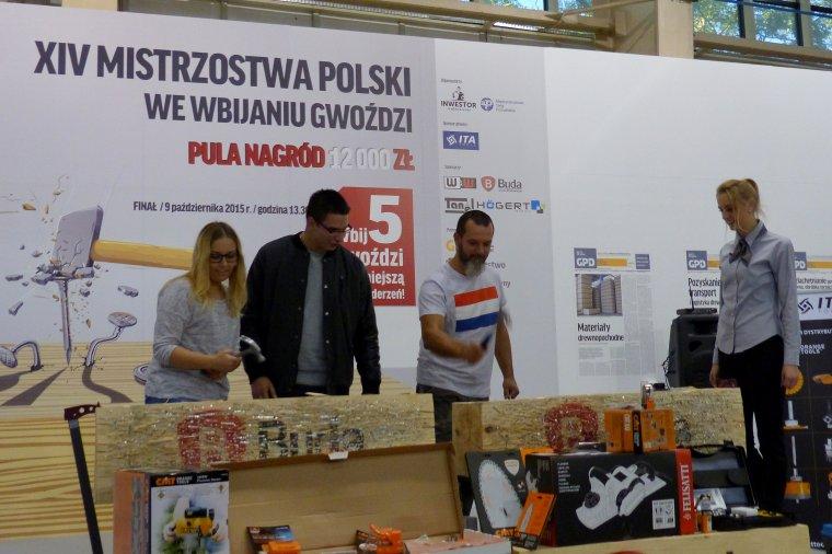 DREMA 2015 - Mistrzostwa Polski we Wbijaniu Gwoździ