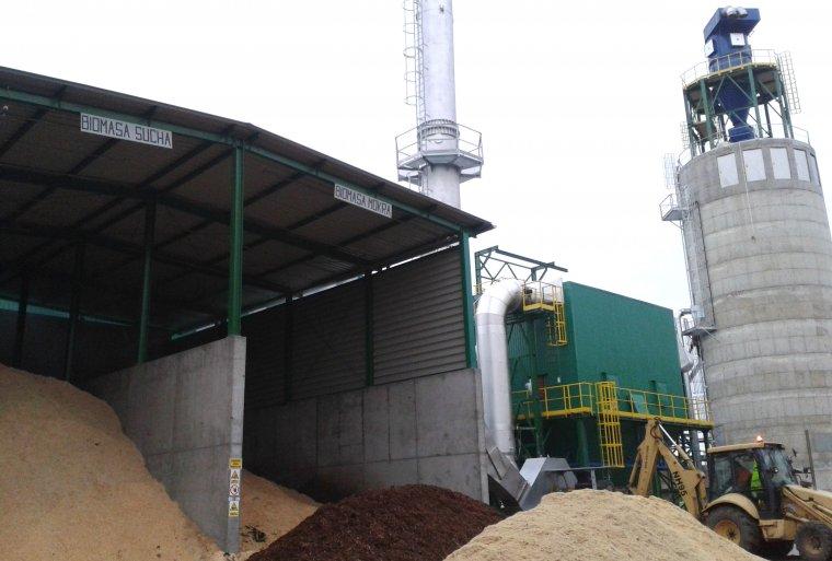 Nowa kotłownia biomasowa w zakładzie Steico w Czarnej Wodzie