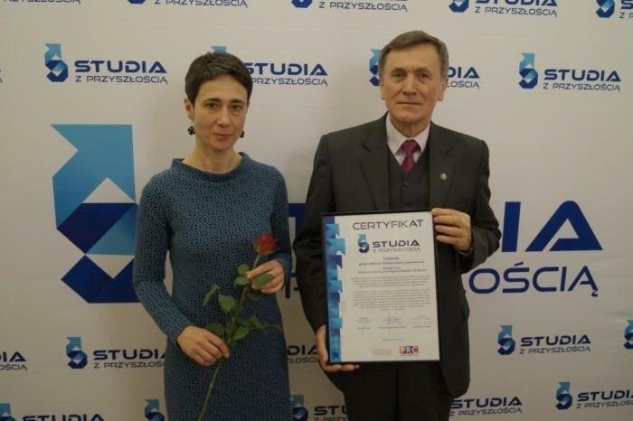 Edukacja Przyrodniczo-Leśna laureatem konkursu Studia z Przyszłoscią