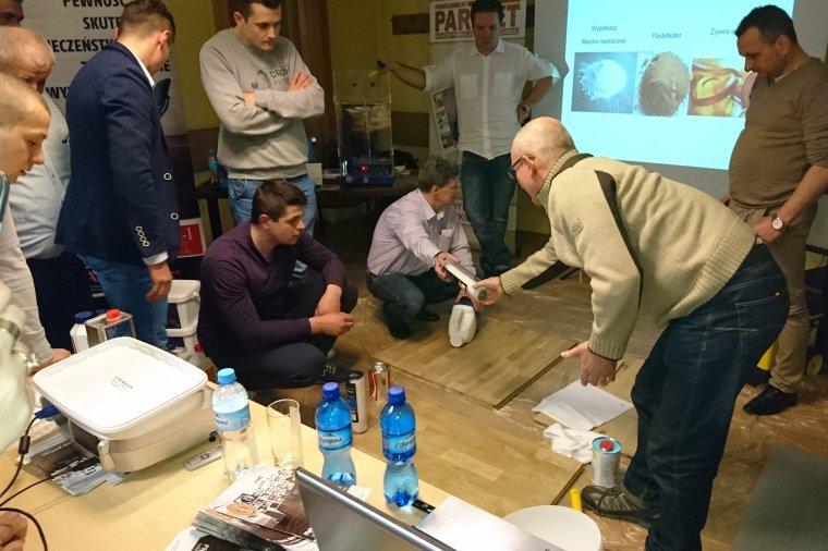 OSP zaprasza na szkolenia parkieciarskie