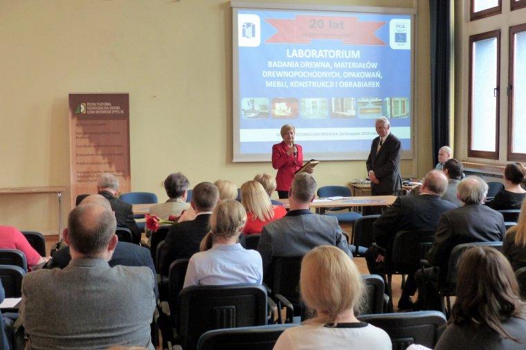 Spotkanie było okazją do podsumowania działalności Laboratorium ITD