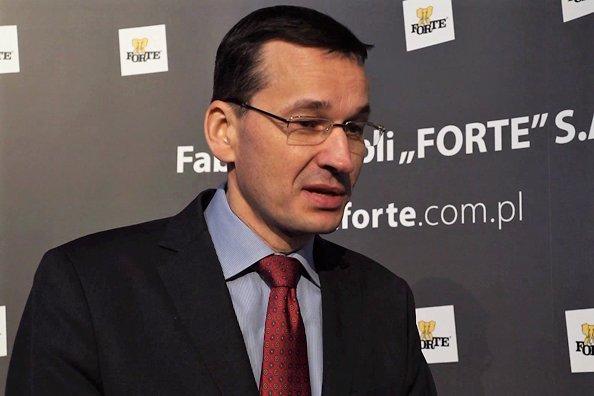 Mateusz Morawiecki,  wicepremier i minister rozwoju i finansów