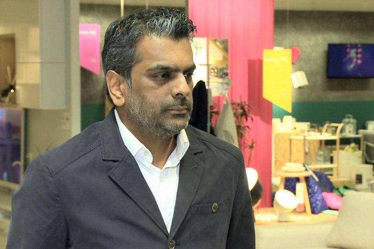 Roy Dewar, dyrektor nowego sklepu IKEA Wola