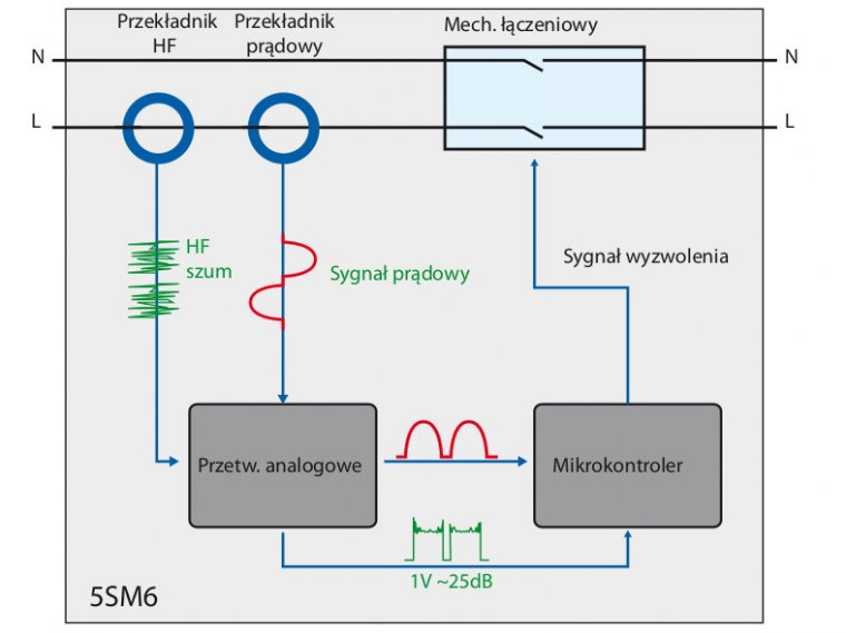 Rys. 2. Schemat budowy detektora 5SM6.