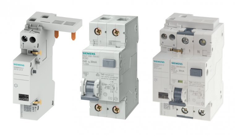 Detektor 5SM6 dedykowany do wyłączników kombinowanych 5SU firmy Siemens.