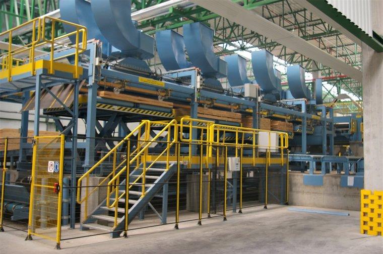 Steico rozpoczęło produkcję na nowej linii LVL