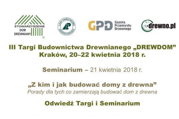 III Targi Budownictwa Drewnianego DREW-DOM